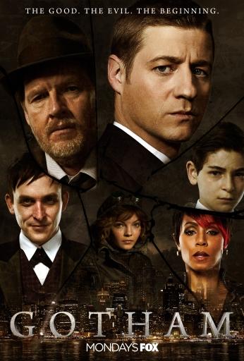 Seriado Gotham Context Poster.