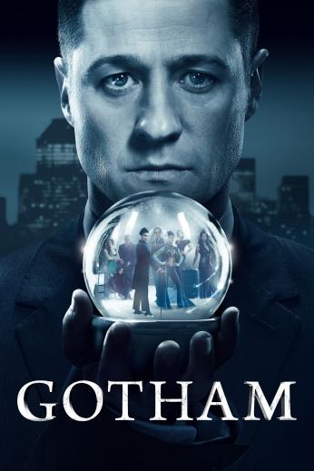 Seriado Gotham Cristal Globe Close Poster.
