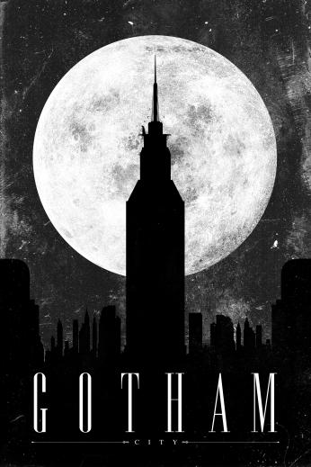 Seriado Gotham Metropolis.