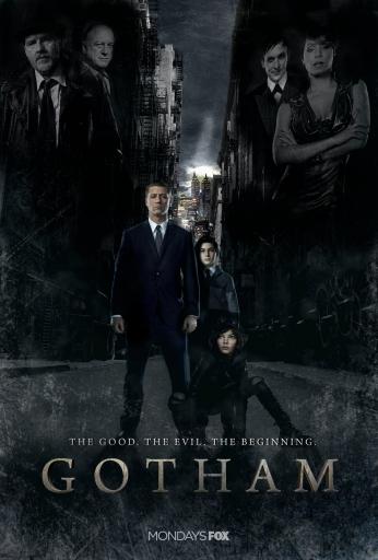 Seriado Gotham Poster Mondays FOX.