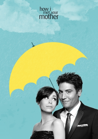 Seriado How i met your mother Classic Umbrela HIMYM.