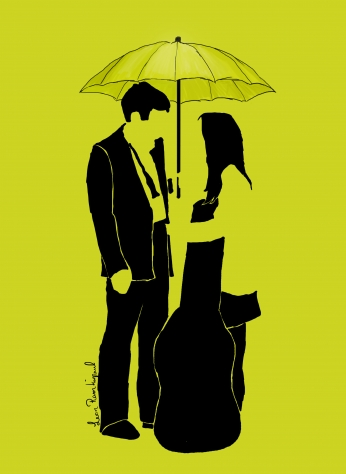 Seriado How i met your mother Minimalista Umbrela HIMYM.