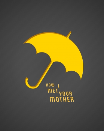 Seriado How i met your mother Yellow Umbrella HIMYM.