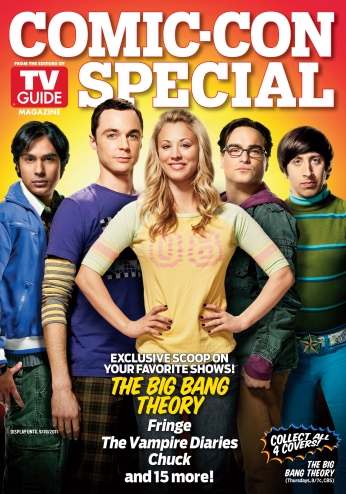 Seriado The Big Bang Theory Big Bang a Teoria Comic Con Magazine 1.