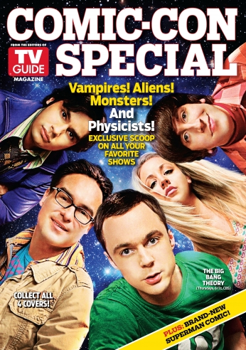 Seriado The Big Bang Theory Big Bang a Teoria Comic Con Magazine 2.