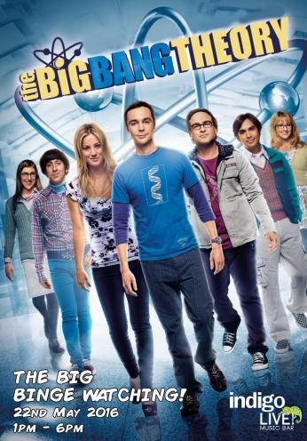 Seriado The Big Bang Theory Big Bang a Teoria Display.