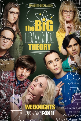 Poster Seriado The Big Bang Theory Big Bang a Teoria Increase IQ Fox..