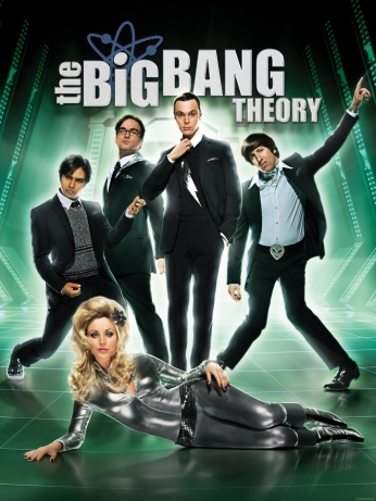 Seriado The Big Bang Theory Big Bang a Teoria Season 4 Poster.