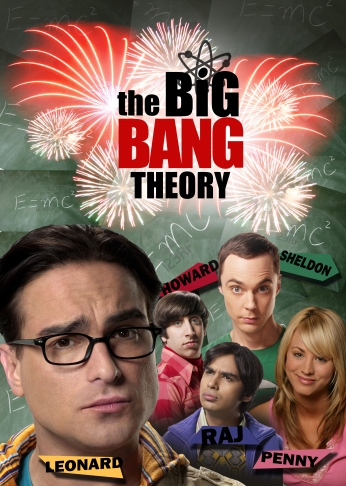 Seriado The Big Bang Theory Big Bang a Teoria Teaser Poster.