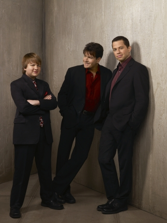 Seriado Two and a Half Men Cast.