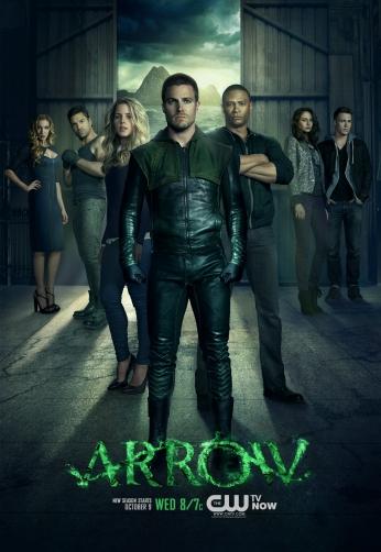 Série Arrow Arqueiro Verde Oliver Queen DC Comics