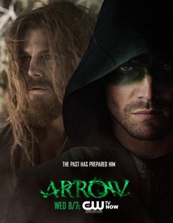 Série Arrow Arqueiro Verde Oliver Queen Resgate