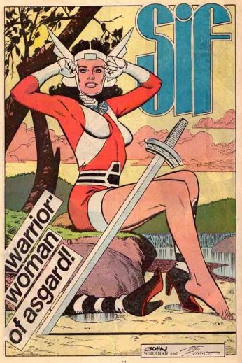 Sif - Woman of Asgard