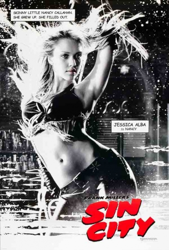 Sin City - Nancy - Teaser Poster