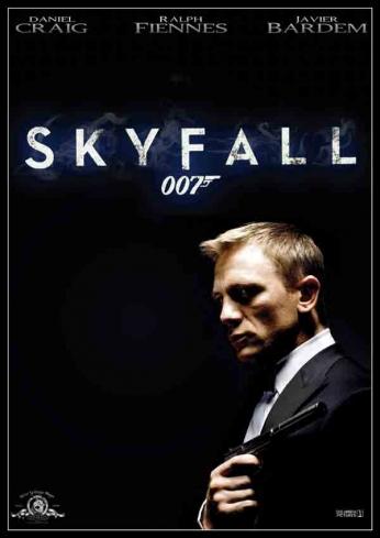 Skyfall - Art Poster