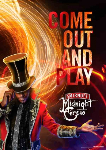 Smirnoff - Midnight Circus