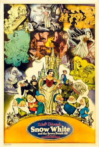 Snow White and the Seven Dwarfs - Teaser Poster