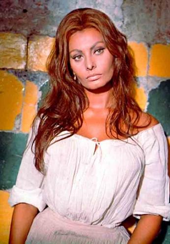 Sophia Loren - Portrait Color - 1957