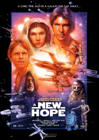 Star Wars - A New Hope - Alternative Poster