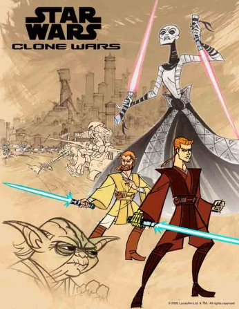 Star Wars - The Clone Wars - Animated