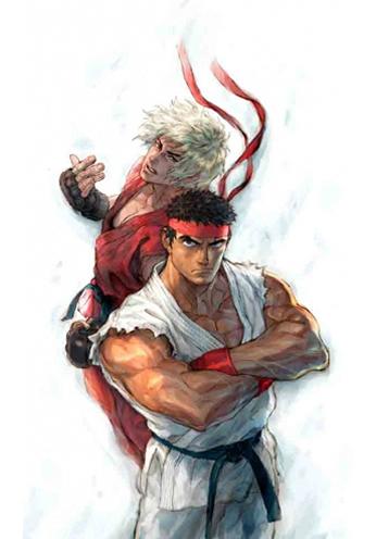 Street Fighter - Ryu e Ken