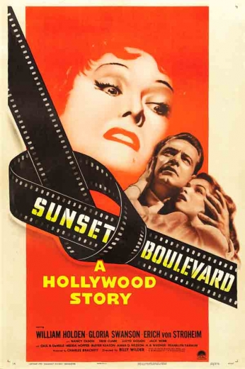 Filme: Sunset Boulevard (Crepúsculo dos Deuses, 1950).
