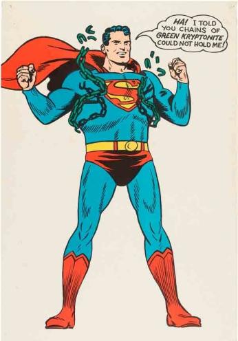 Superman - Chains of Green Kryptonite - 1966