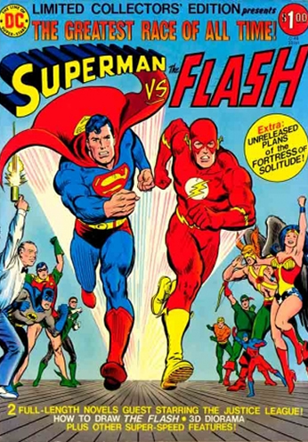 Superman VS The Flash - The Greatest Race of All Time