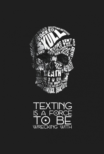 Texting Is A Force To Be Wrecking With