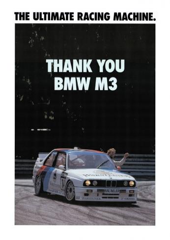 Thank You BMW M3