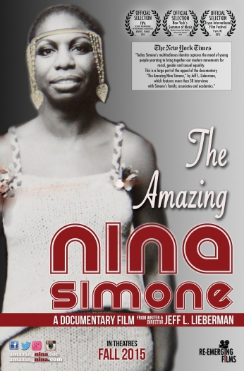 The Amazing Nina Simone Poster.