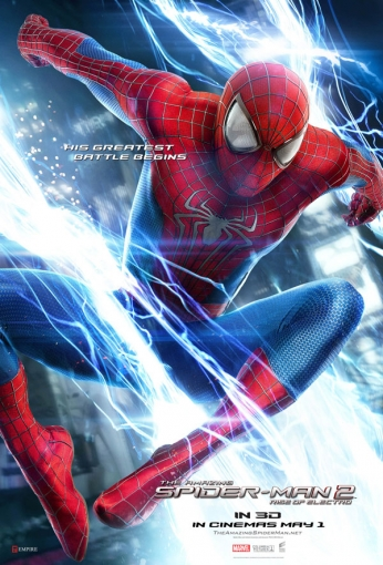 The Amazing Spider Man 2 - The Rise of Electro - Teaser Poster