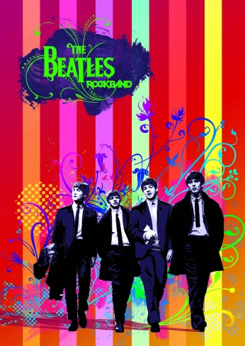 Poster The Beatles Pop Art.