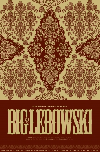 The Big Lebowski Movie Posters