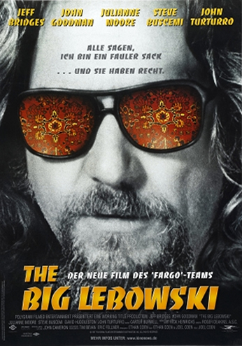 Poster The Big Lebowski Teaser Poster.