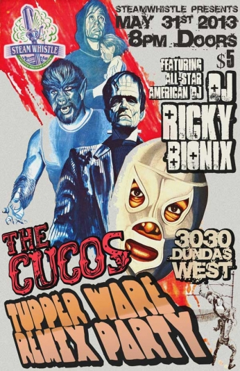 The Cucos - Tupper Ware Remix Party