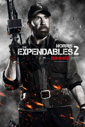 Filme: The Expendables 2 (Os Mercenários 2, 2012).