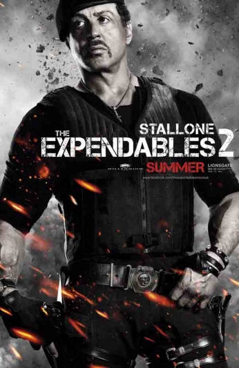 The Expendables 2 - Stallone - Teaser Poster