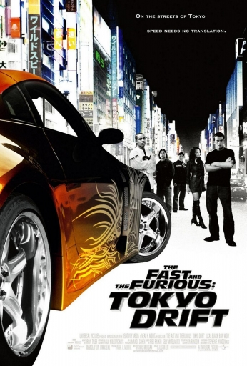Poster The Fast And The Furious Tokyo Drift..
