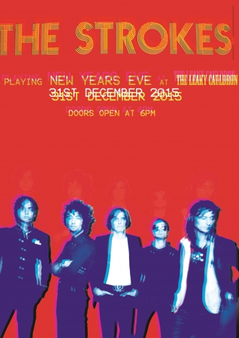 The Strokes Playing New Year.