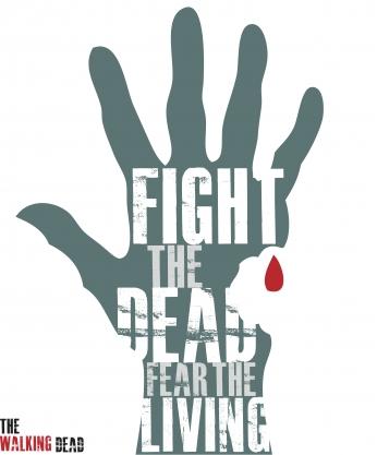 The Walking Dead Minimalist Poster Hand