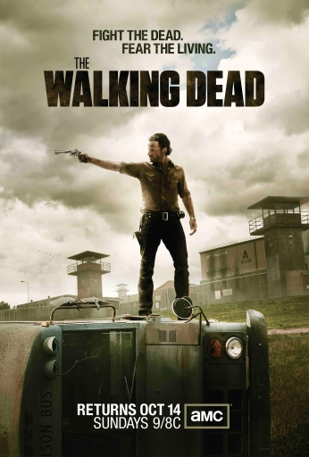 The Walking Dead Poster Serie Vertical