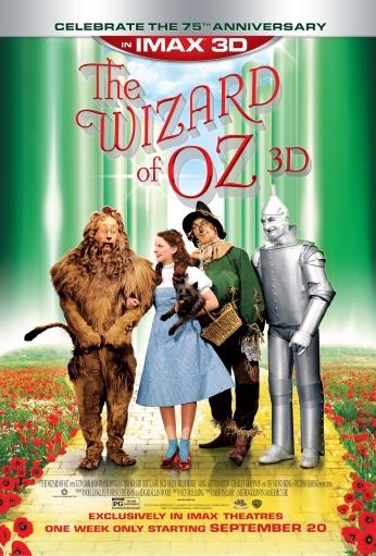 Poster The Wizard of Oz 75 anniversary - O Mágico de Oz.
