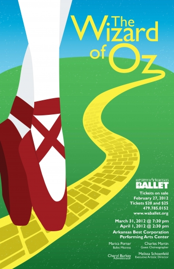 The Wizard of Oz - O Mágico de Oz Art Poster