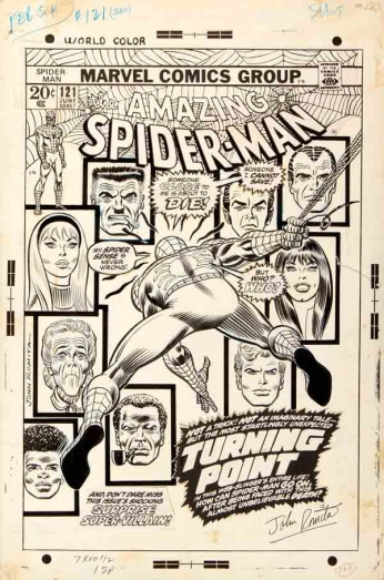 The Amazing Spider Man - nº 121 - Cover Project