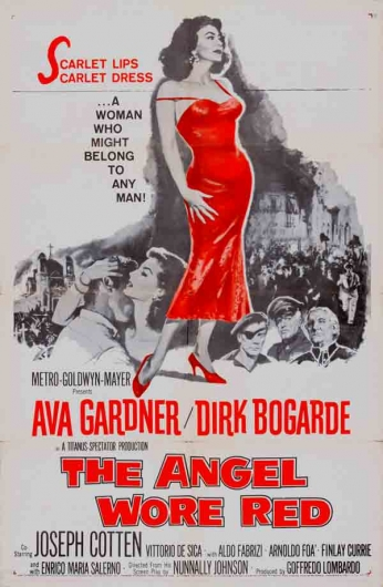 Filme: The Angel Wore Red (Tentação, 1960).