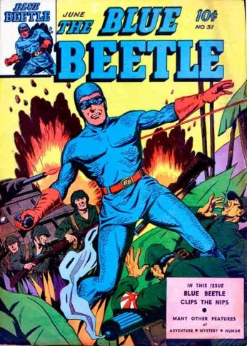 The Blue Beetle - nº 31