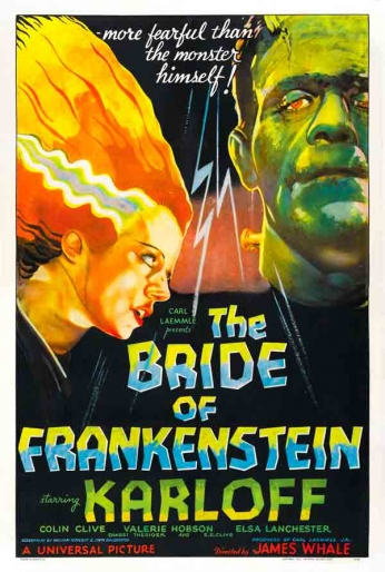 The Bride of Frankenstein - Teaser Poster