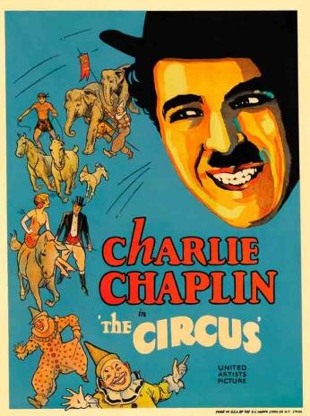 Filme: The Circus (O Circo, 1928). Direção: Charles Chaplin. Elenco: Charles Chaplin, Al Ernest Garcia, Merna Kennedy e Harry Cocker.