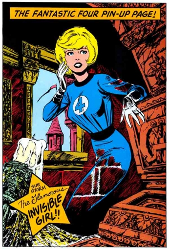 The Fantastic Four - The Glamorous Invisible Girl